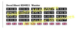 Warrior Number Plates